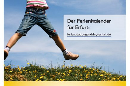 Presseinformation: Stadtjugendring Erfurt veröffentlicht Sommerferienkalender