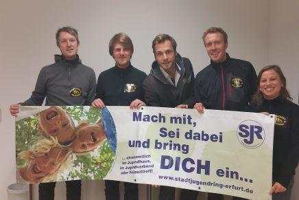 Neuer Vorstand des Stadtjugendring Erfurt e.V. gewählt