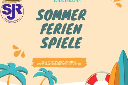 Stadtjugendring Erfurt veröffentlicht Sommerferienkalender