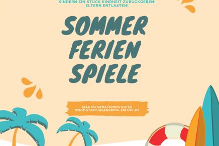 Sommerferienspiele: Trotz Corona viel Spaß im Sommer für Kinder und Jugendliche in Erfurt