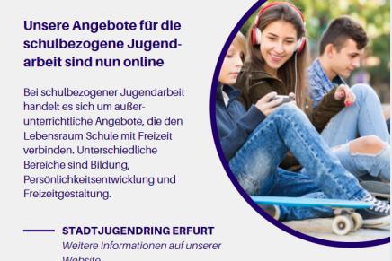 Information: Angebote für die schulbezogene Jugendarbeit nun online